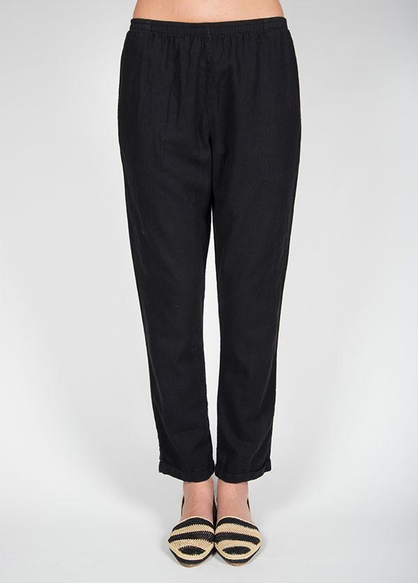 Me & Arrow - Cuff Pants in Black