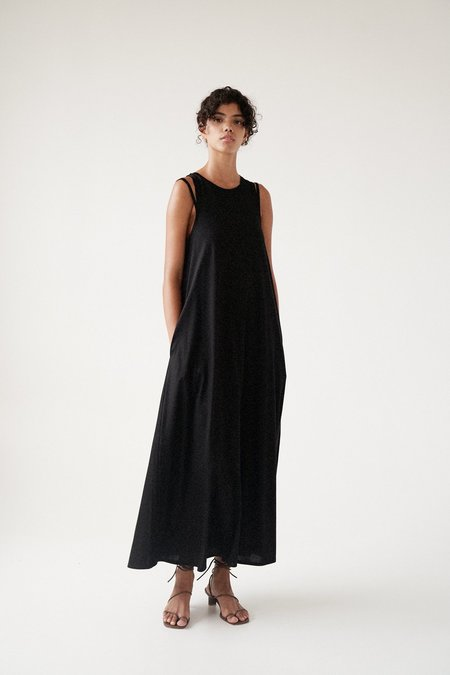Sayaka Davis Double Strap Jersey Dress