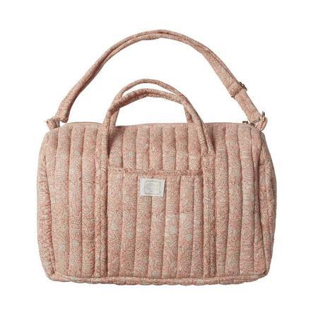 Kids Bonheur Du Jour Indian Floral Bag - Terracota/Pink