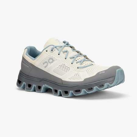 On Cloudventure shoes - Sand/Wash