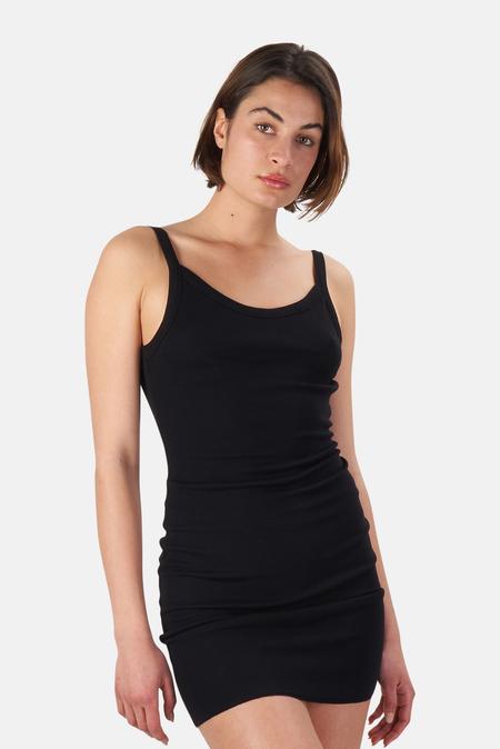 Cotton Citizen Verona Tank Dress - Jet Black