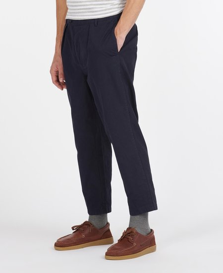 BARBOUR MARSHALL TROUSERS - Navy