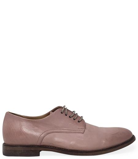 Moma Leather Lace Up Oxford - Light/Pink