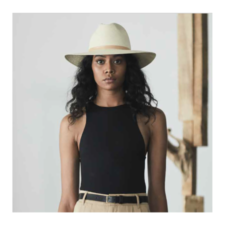 Janessa Leone Antoni Hat - NATURAL