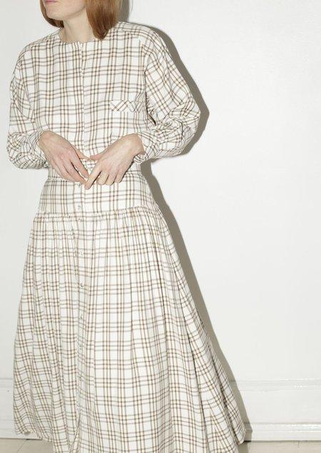 Mr. Larkin Kind Skirt - Curtain Plaid