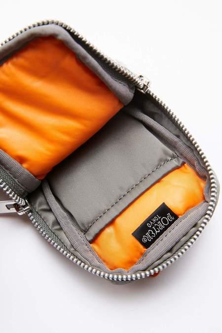 Porter-Yoshida & Co. TANKER POUCH bag - SILVER GREY