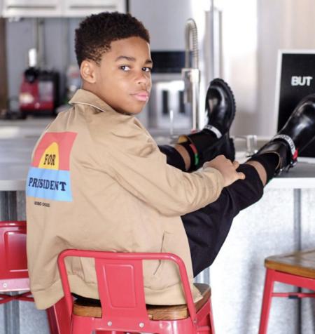 kids Bobo Choses For President Reversible Jacket - Multi
