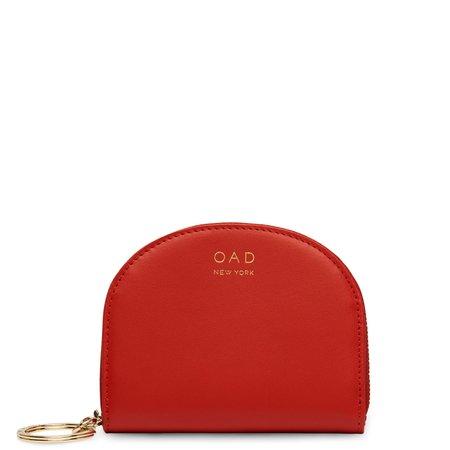 OAD Calf Dia Mini Mirror Wallet - Classic Red