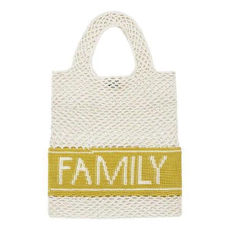 Kids Bonton Family Net Bag - Cream