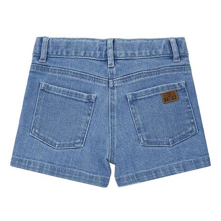 Kids Bonton Neon Shorts - Raw Denim Blue