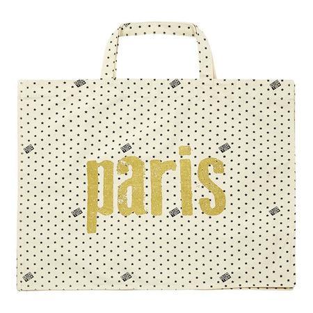 Bonton Paris Tote Bag - Cream