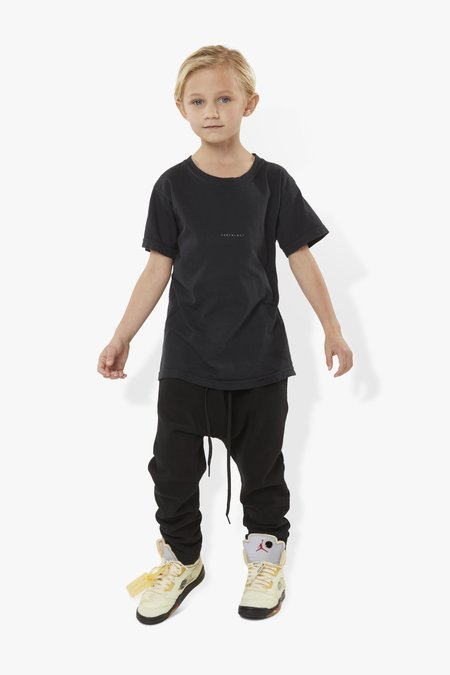 Kids The Celect Reverse Logo T-Shirt - Black