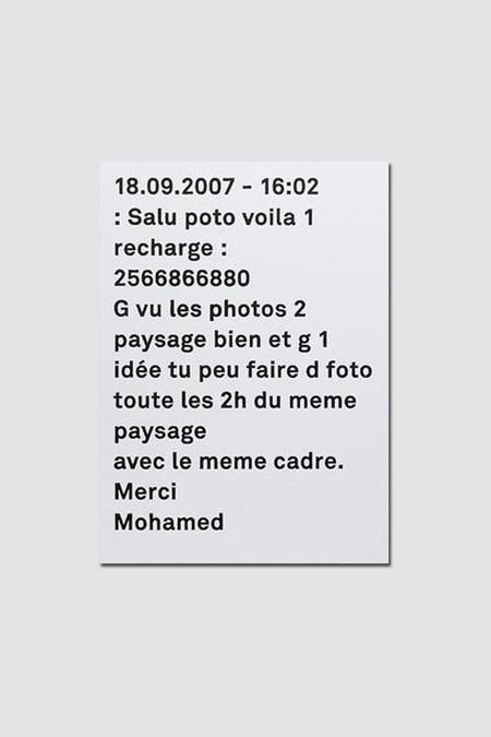 Etudes Studio Mohamed Bourouissa - Temps Mort