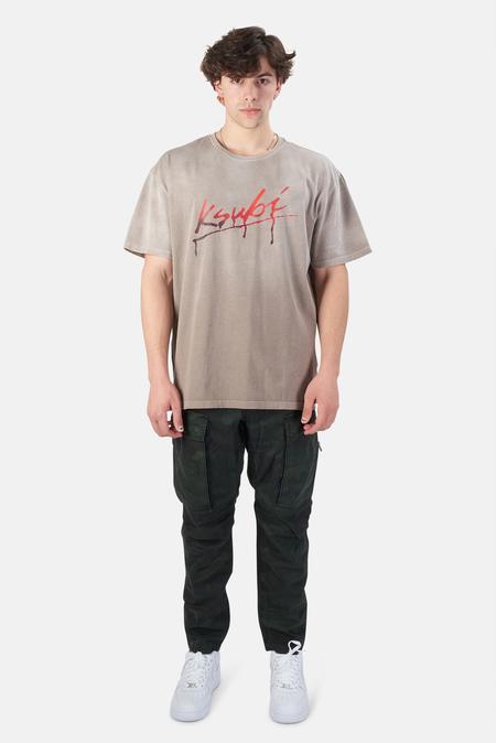 Ksubi Flint T-Shirt - grey flint