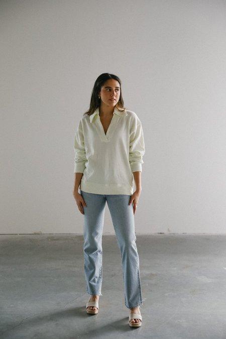 Citizens of Humanity Rosalia Polo sweater - Lemon Drop