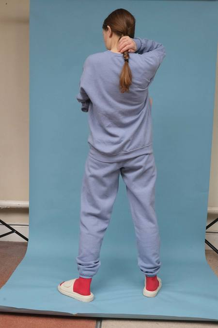 WOLF & GYPSY VINTAGE Hand Dyed Joggers pants - Powder Blue