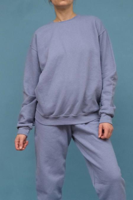 WOLF & GYPSY VINTAGE Hand Dyed Sweatshirt - Powder Blue