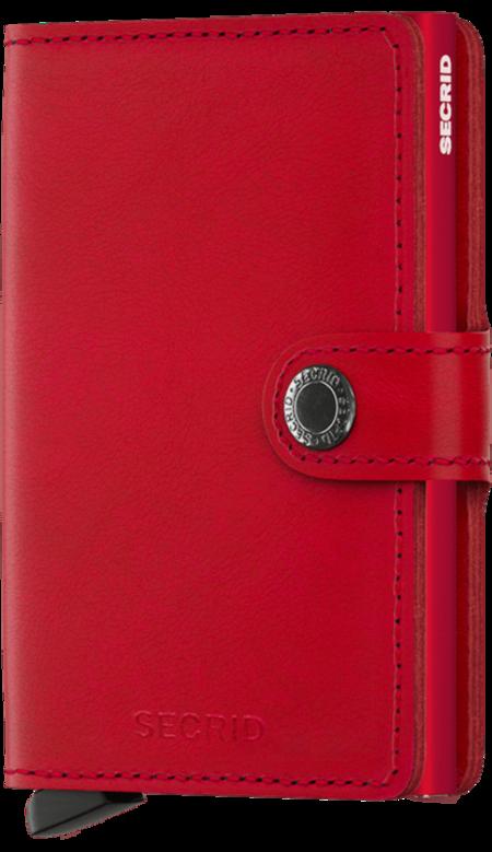 Secrid Mini wallet - Red-Red