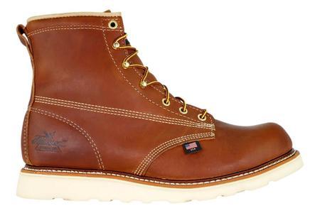 "Thorogood American Heritage 6"" Plain Toe Boots - Tobacco"