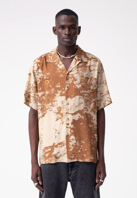 Unisex Carne Bollente The Rockhard Shirt - beige