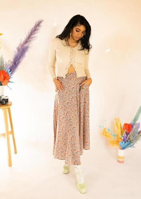 Acacia Dani Cupro Skirt - multi