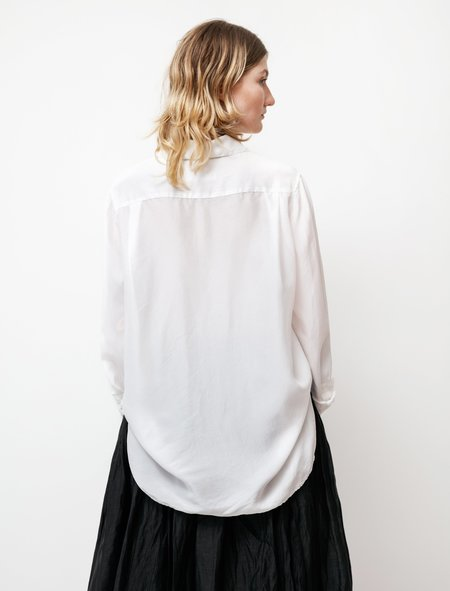 Casey Casey Womens Marine Silk Shirt - Natural