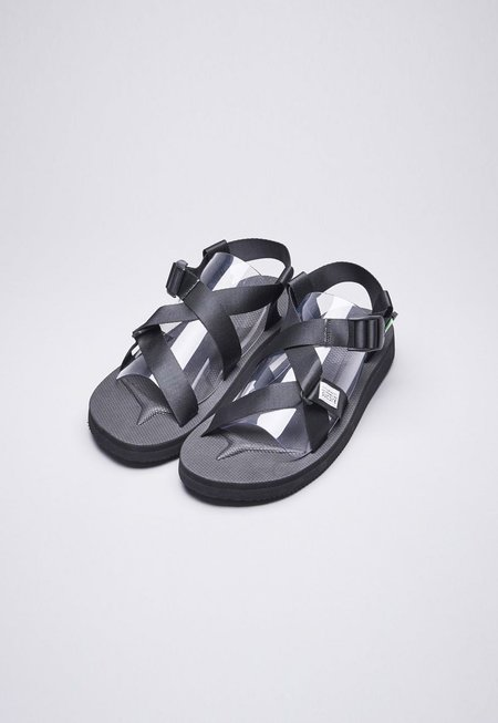 Suicoke Chin2-Cab Sandals - Black