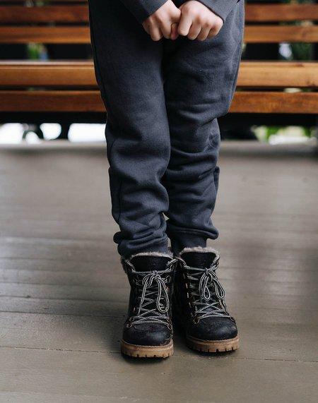Kids Noble Organic Sweatpants - Charcoal
