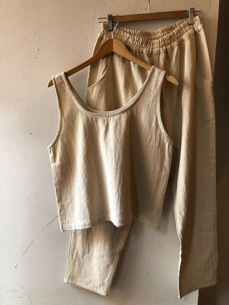 PO-EM Cotton Deck Pants - Khadi