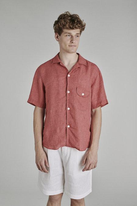 Delikatessen SS21 Camp Collar Shirt - Delave Italian Linen