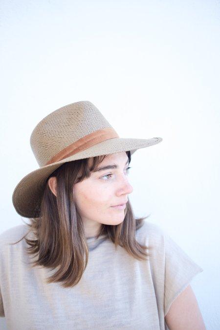 Janessa Leone Alexei Hat - Brown