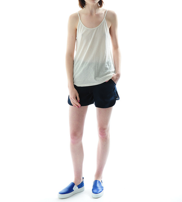 T By Alexander Wang Lightweight Cotton Poly Jersey Camisole