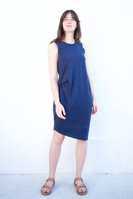 Valérie Dumaine Toni Hemp Dress - Navy