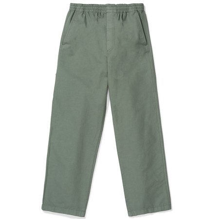 Norse Projects evald canvas work pants - Moss Green