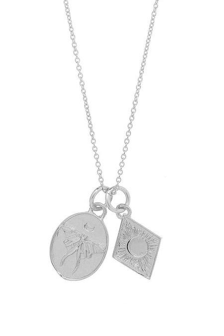 Talon Renewal Charm Necklace - Sterling Silver