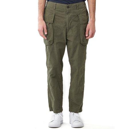 Sage de Cret Military Cargo Pants - Olive