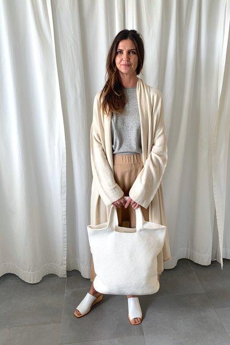 Lauren Manoogian Big Oval Bag - Chalk