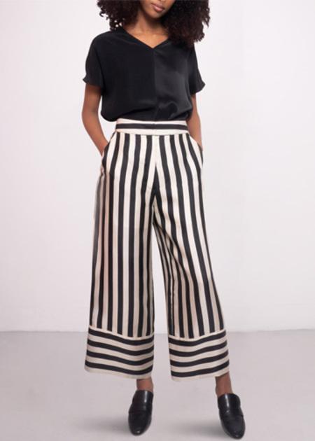Studio Heijne Freedom Trousers  - Striped