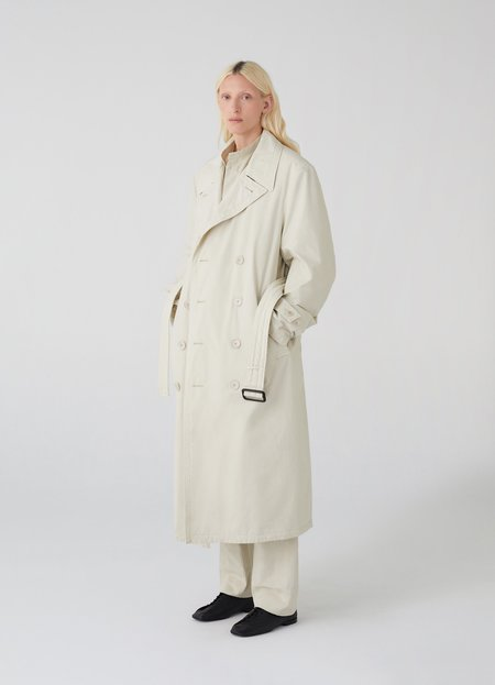 Unisex Lemaire trench coat - pelican grey
