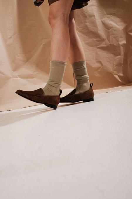 ACT SERIES Caspar Suede Loafers - Brown