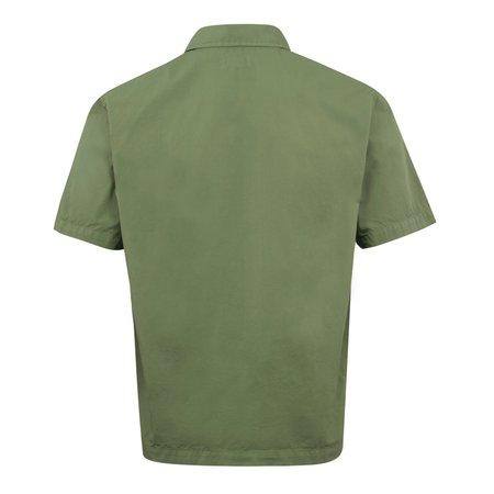 Universal Works Road Poplin SS Pocket Shirt - Olive
