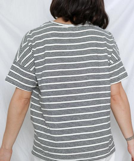 Orejas The Stripe V-Neck Tee