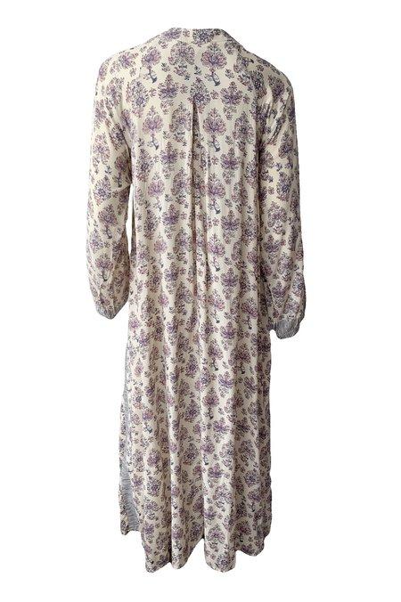Natalie Martin Fiore Maxi Dress - Cyprus Print Lilac