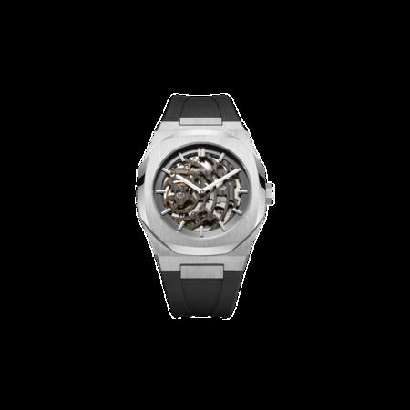 D1 Milano Skeleton Rubber 41.5 mm Watch