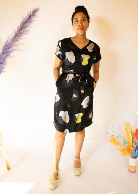 Elk the Label Poppy Dress - black/multi