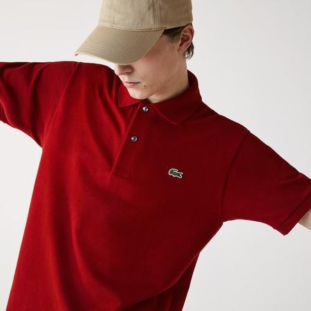 Lacoste Classic Fit L.12.12 Polo Shirt - Bordeaux