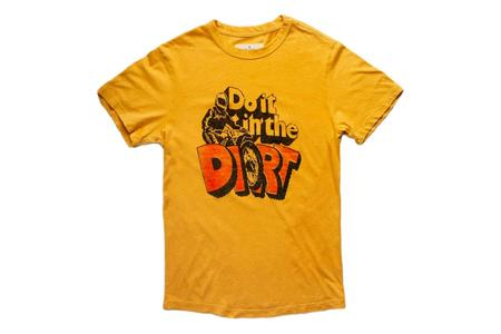 Unisex Imogene + Willie do it in the dirt tee - Yellow