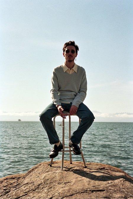 Séfr Linus Sweater - Pale Blue