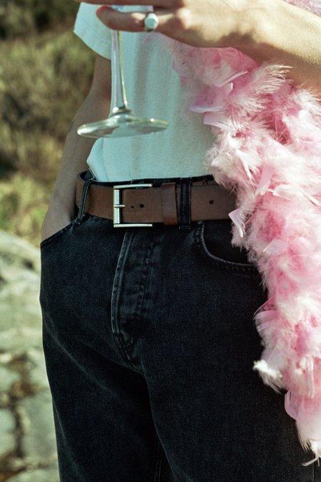Séfr Straight Cut Jeans - Rinsed Black