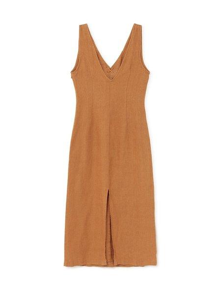 Paloma Wool Emma Dress - Light Caoba